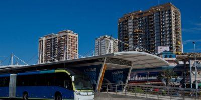 Buses para los Juegos Olímpicos de Rio 2016, se accidentan