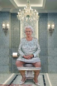 "La Reina Isabel II de Reino Unido Foto:Cristina Guggeri ""Krydy"" www.areashoot.net"