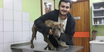 Diego Samperio, sobrino de Victor, junto a Tisha Foto:Facebook