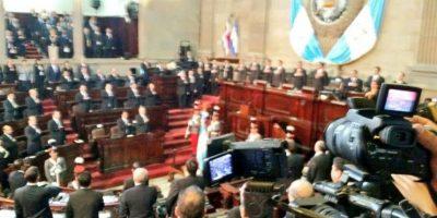 Durante su último discurso como presidente del Congreso, Arístides Crespo resaltó sus logros a lo largo del último año. Foto:Kenneth Monzón