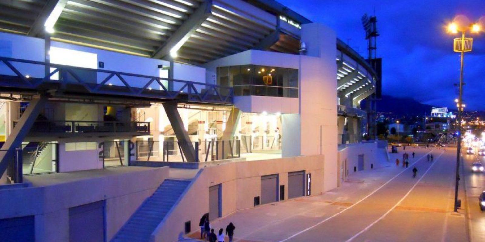 El nombre de Nemesio Camacho viene del padre de Luis Camacho, quien donó su terreno llamado El Campín para la construcción del estadio, en 1938. Foto:Wikipedia