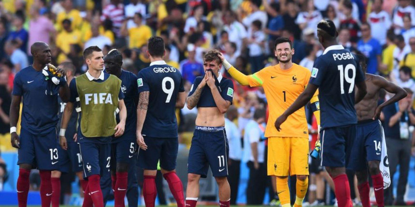Fue parte del combinado francés que participó en el Mundial de Brasil 2014 Foto:Getty