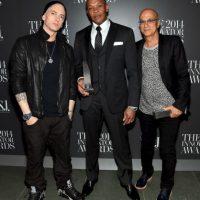 Suele aparecer al lado de su amigo Dr. Dre Foto:Getty