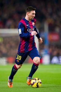 Messi esta valuado en 120 millones de euros, sin contar su claúsula de rescisión Foto:Getty