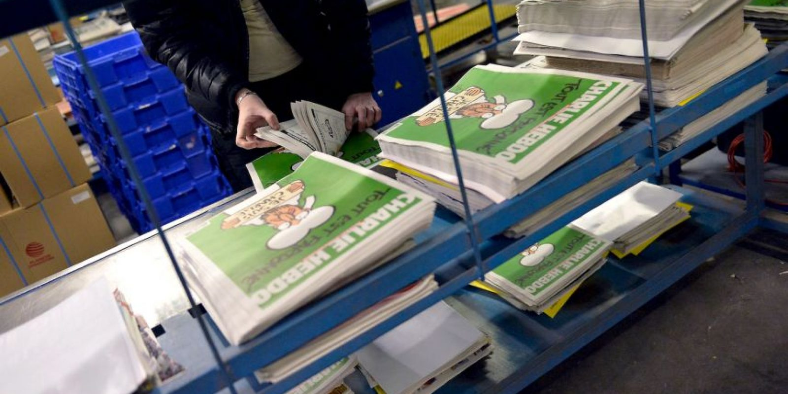 La revista se hizo mundialmente conocida a raíz de la publicación de varias caricaturas de Mahoma en 2012. Foto:Getty Images