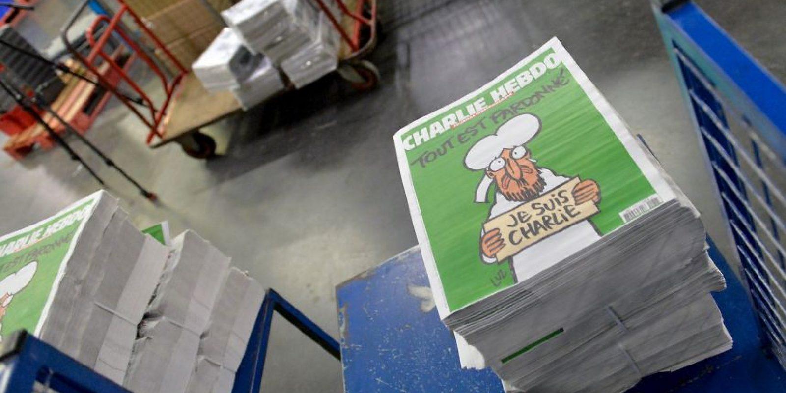 La mayor parte de los quioscos se quedaron sin ejemplares. Foto:Getty Images