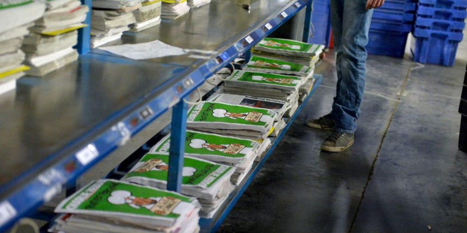 En un quiosco, en unos minutos desaparecieron 150 números. Foto:Getty Images