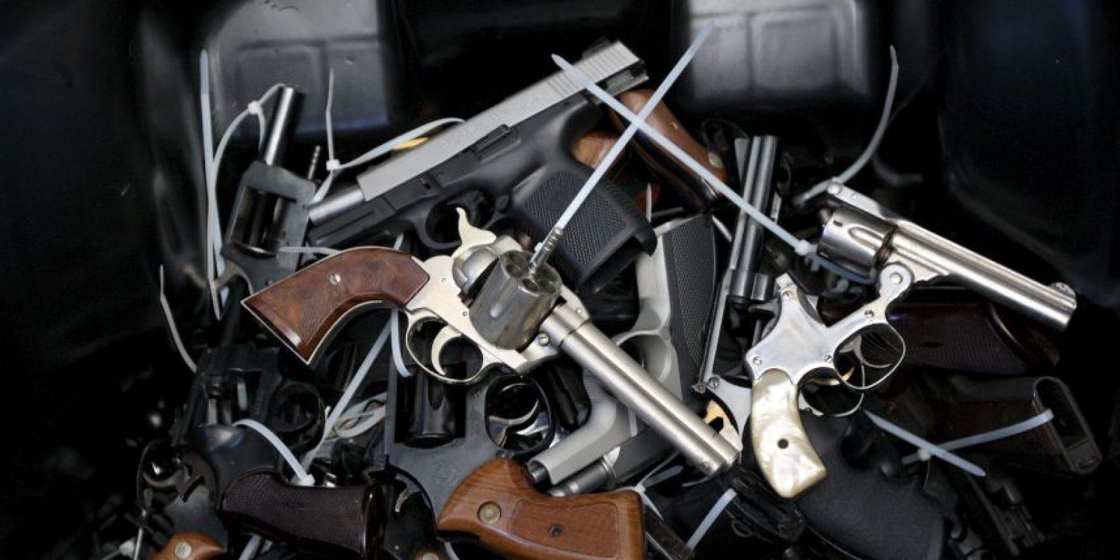 Chile: Existen 2 millones de armas no registradas en el país Foto:Getty Images