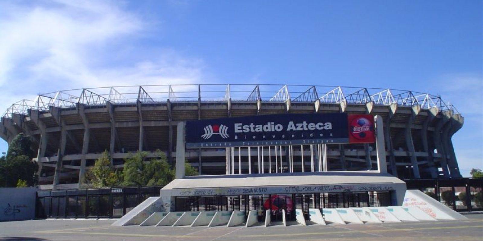 Estadio Azteca de México: Antonio Vázquez Torres fue el ganador de un concurso en el que se llamaba a la afición a darle un nombre al estadio en el que su momento fue local Cruz Azul, Necaxa y Atlante. Foto:Wikipedia