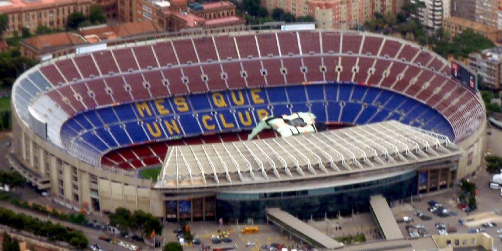 Camp Nou del Barcelona de España: En un inicio los directivos culés le pusieron el nombre de Estadio del Club de Fútbol Barcelona. Foto:Wikipedia