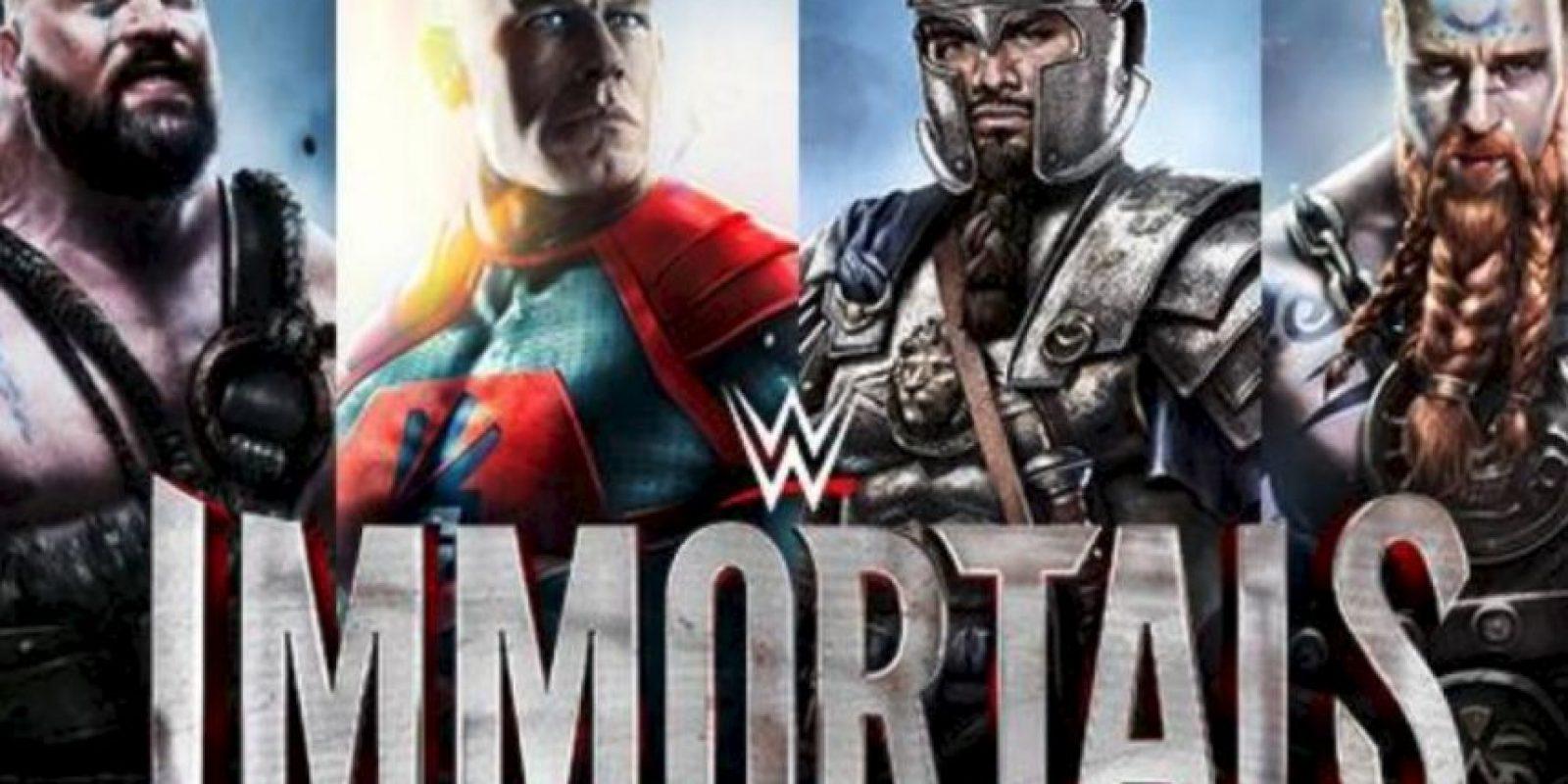 El próximo 15 de enero se estrena un nuevo videojuego de la empresa del entretenimiento deportivo Foto:WWE