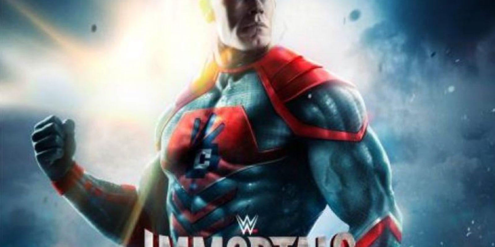 Así lucirán los luchadores Foto:WWE