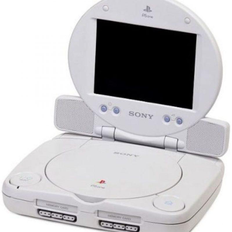 PlayStation One Slim con pantalla Foto:Sony