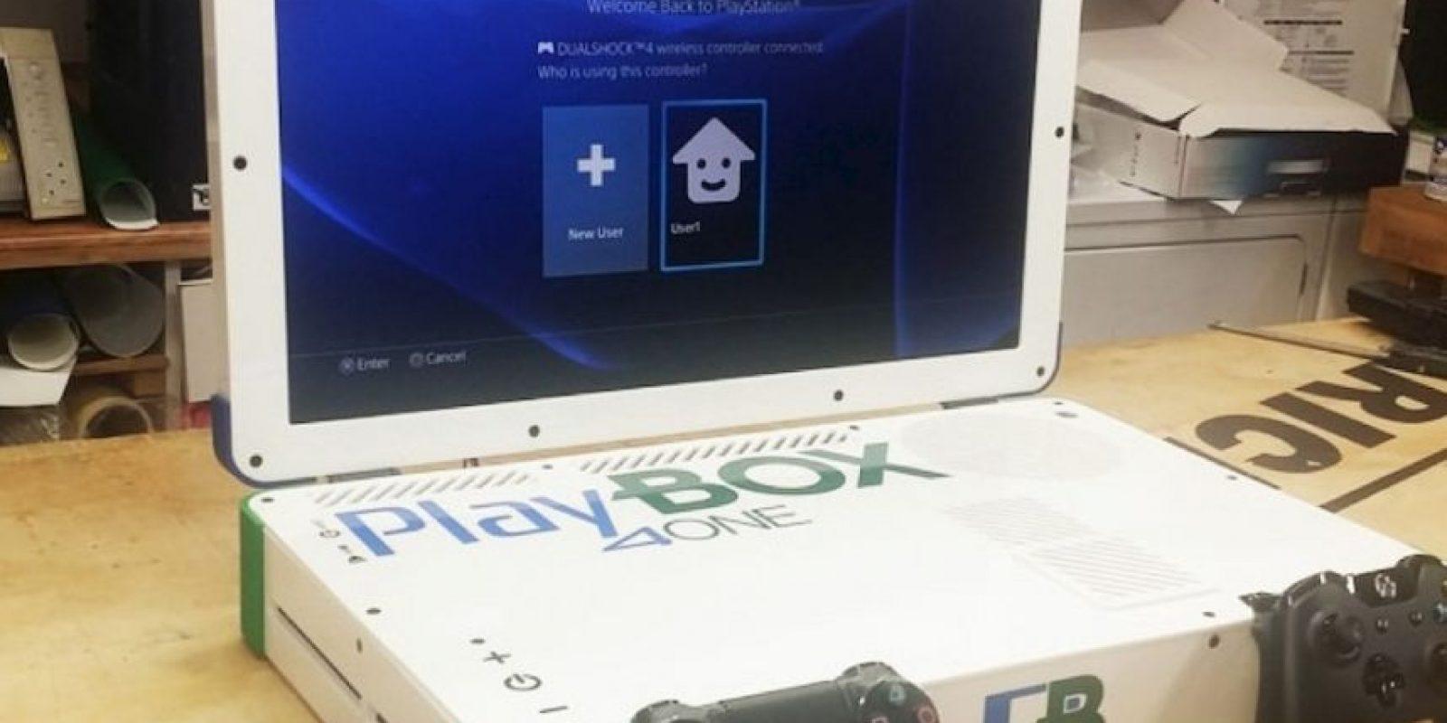 Así se ve el PlayBox Foto:vía edsjunk.net