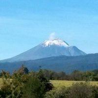 Popocatépetl, México. Foto:instagram.com/maryrosspellico