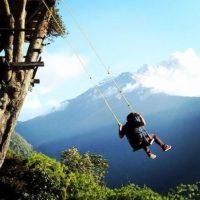 """Su nombre significa """"ardor en la garganta"""". Está ubicado en la zona andina de Ecuador. Foto:Instagram"""