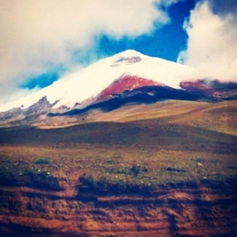 Con más de 5 mil metros sobre el nivel del mar, se encuentra a 32 kilómetros de la capital, Quito. Foto:instagram.com/diegolopez08