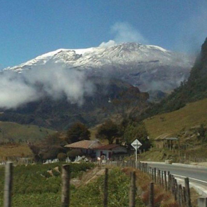 Nevado del Ruiz, Colombia. Foto:instagram.com/andrezgr7