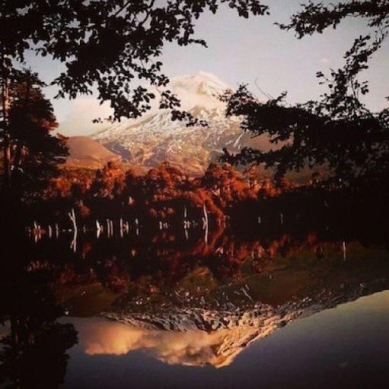 Se encuentra ubicado a 72 kilómetros de la ciudad de Temuco, desde donde se puede apreciar a simple vista. Foto:instagram.com/paola_acv