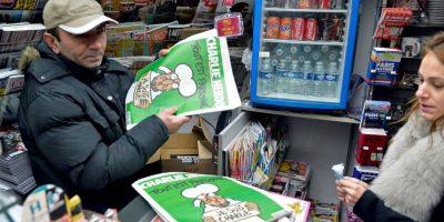 Se agotan los cinco millones de ejemplares del número especial de Charlie Hebdo