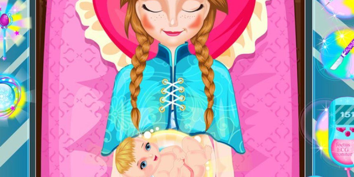 """¡Insólito! Crean un juego para ayudar a que nazca el hijo de Anna de """"Frozen"""""""