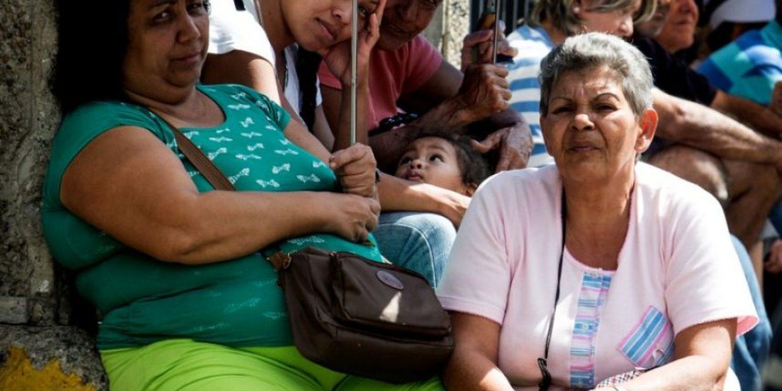 Crisis en Venezuela tras el escaseo de productos básicos Foto:AFP