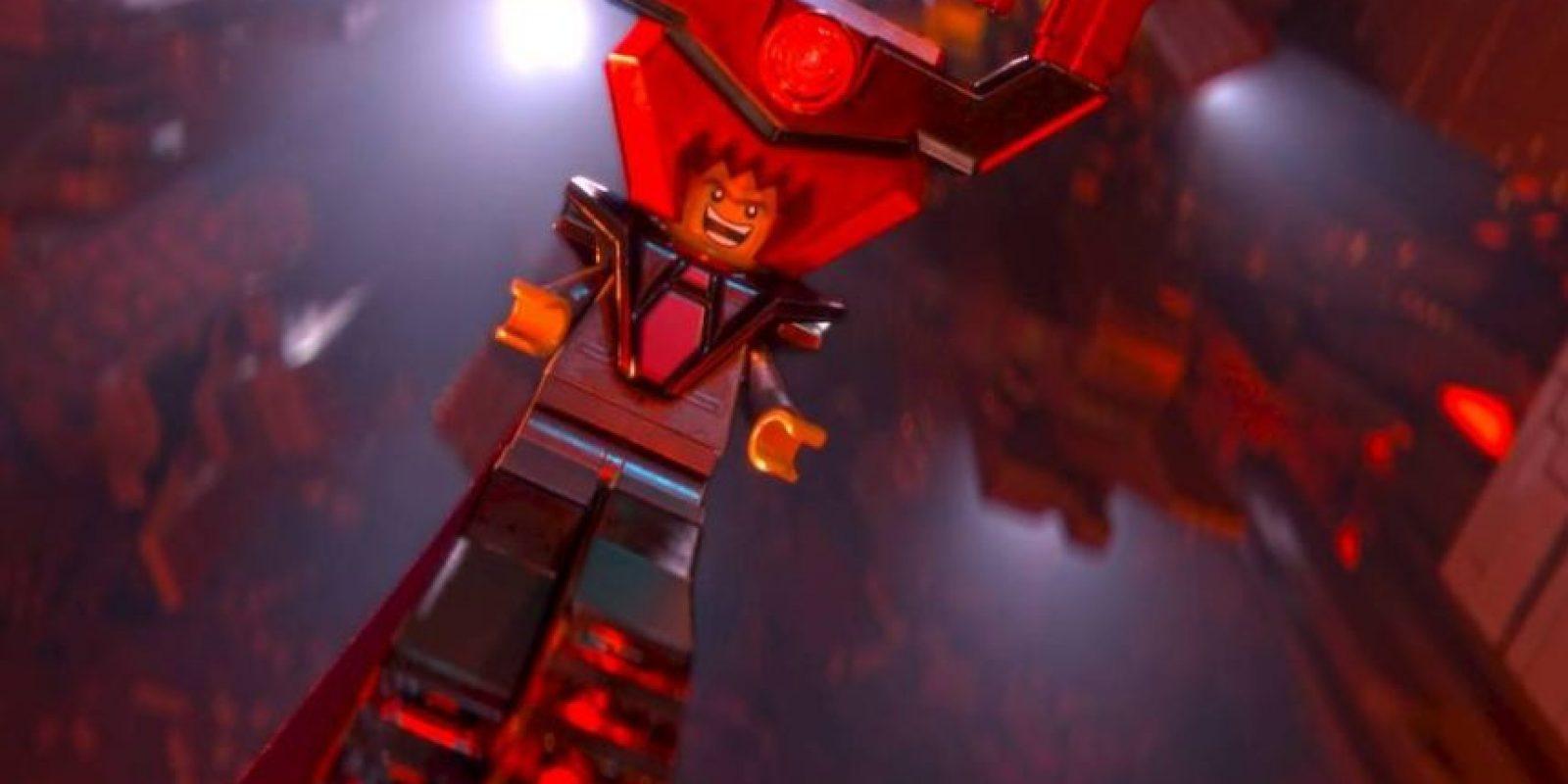 """En secreto, el Presidente Negocios es el """"Señor Negocios"""", un tirano que con un ejército de robots planea conquistar el universo Lego. Foto:Facebook/The Lego Movie"""