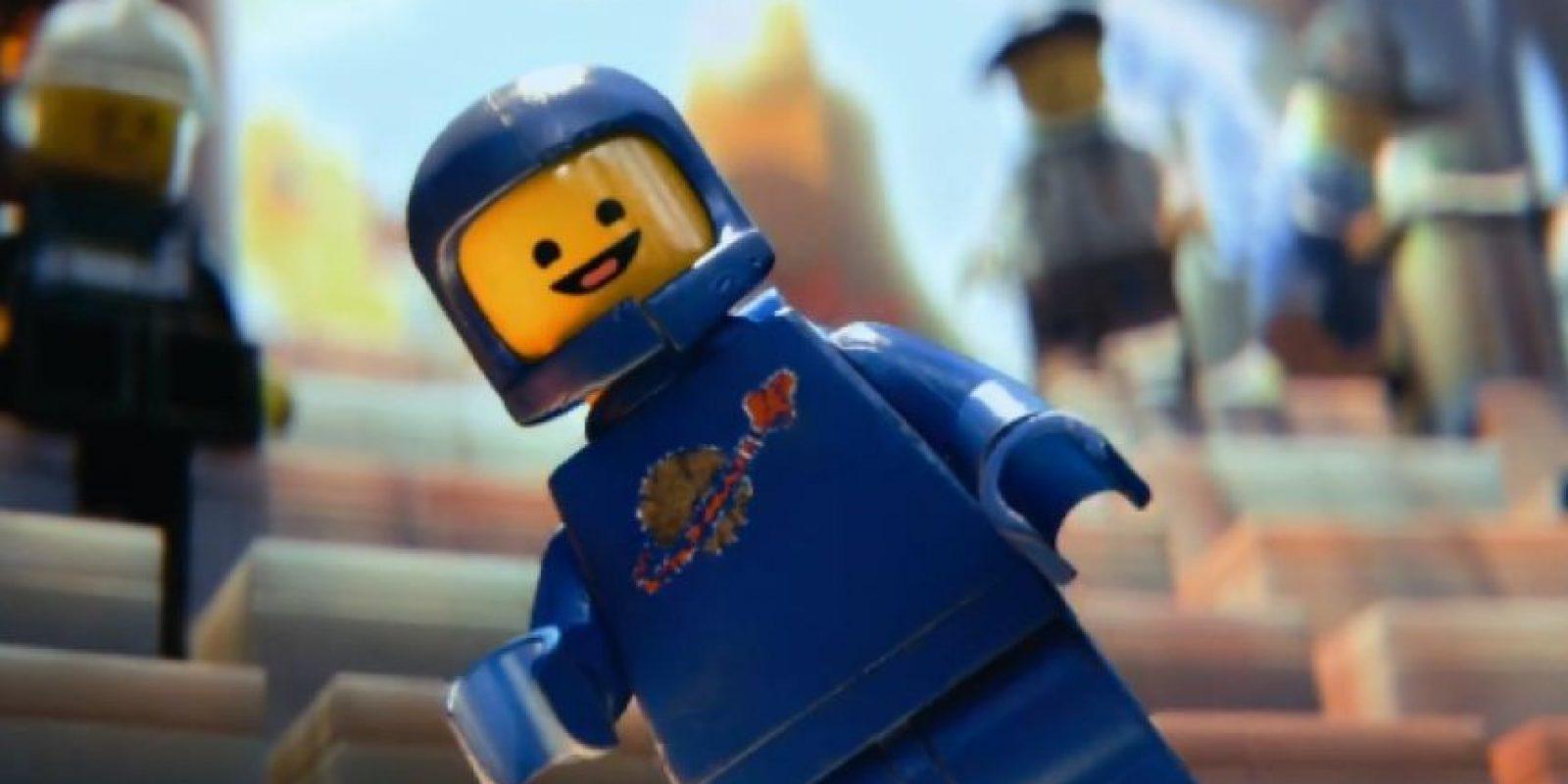 Un astronauta de los años 70 Foto:Facebook/The Lego Movie