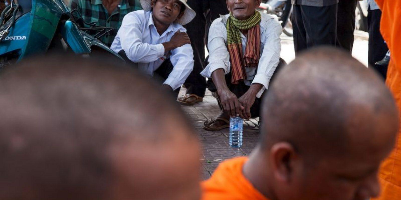 Esto luego de dudar de la victoria de primer ministro Hun Sen. Foto:Getty