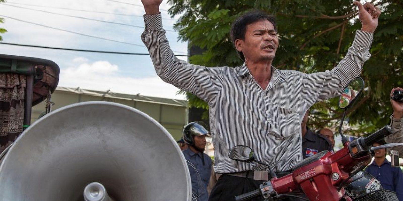 La huelga fue terminada por el príncipe Sisowath Thomico. Foto:Getty