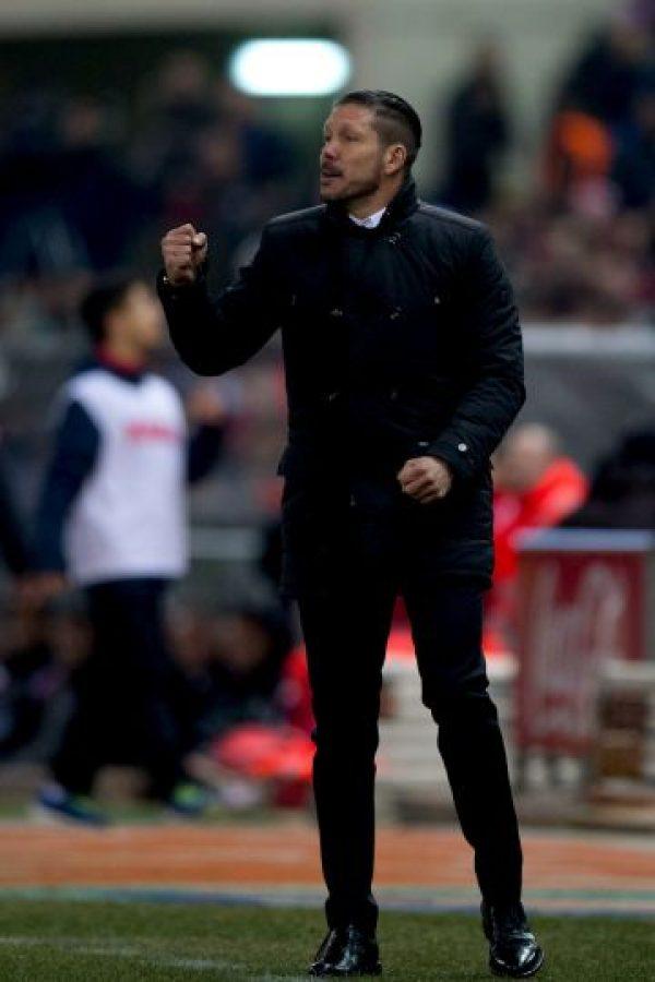 El Atleti es dirigido por Diego Simeone, quien los llevó al título de la Liga de España Foto:Getty