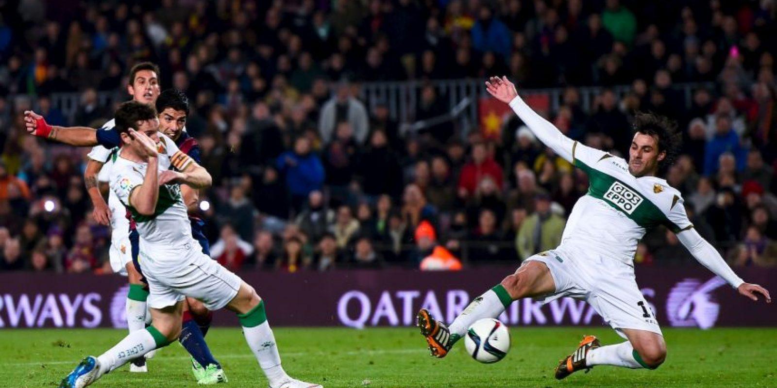Los blaugranas se impusieron 5-0 en el partido de ida de los octavos de final de la Copa del Rey Foto:Getty