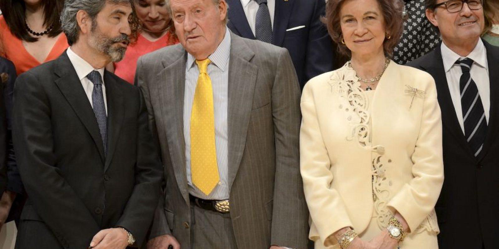 La familia real española también ha sido muy criticada por gastar demasiado. Foto:Getty Images