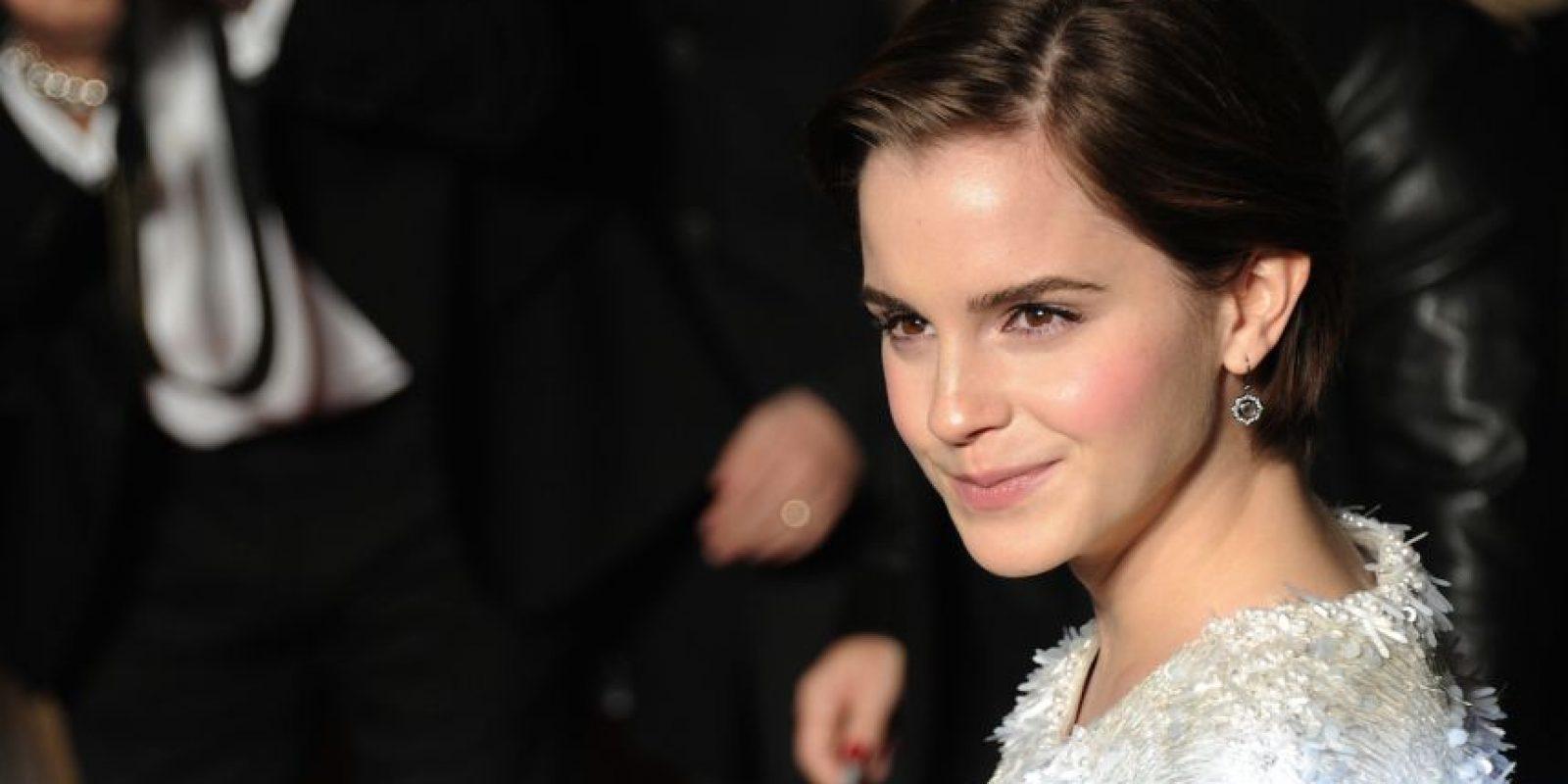 """La actriz le preguntó: """"Entonces… Harry Styles cuando vas a ver la segunda mitad de 'The Perks of Being a Wallflower'?"""" Foto:Getty Images"""