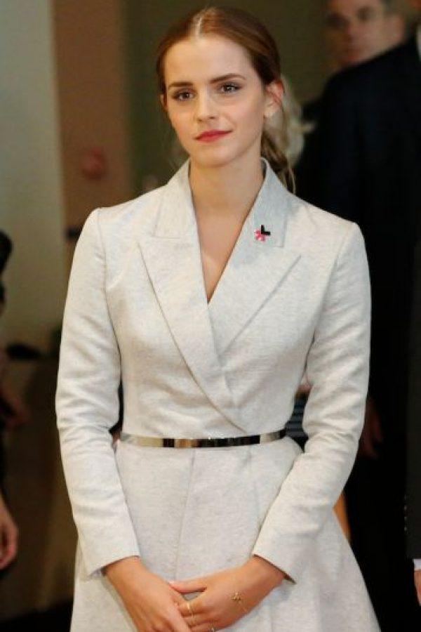 Por medio de esta campaña, Emma pretende erradicar el machismo de la sociedad. Foto:Getty Images