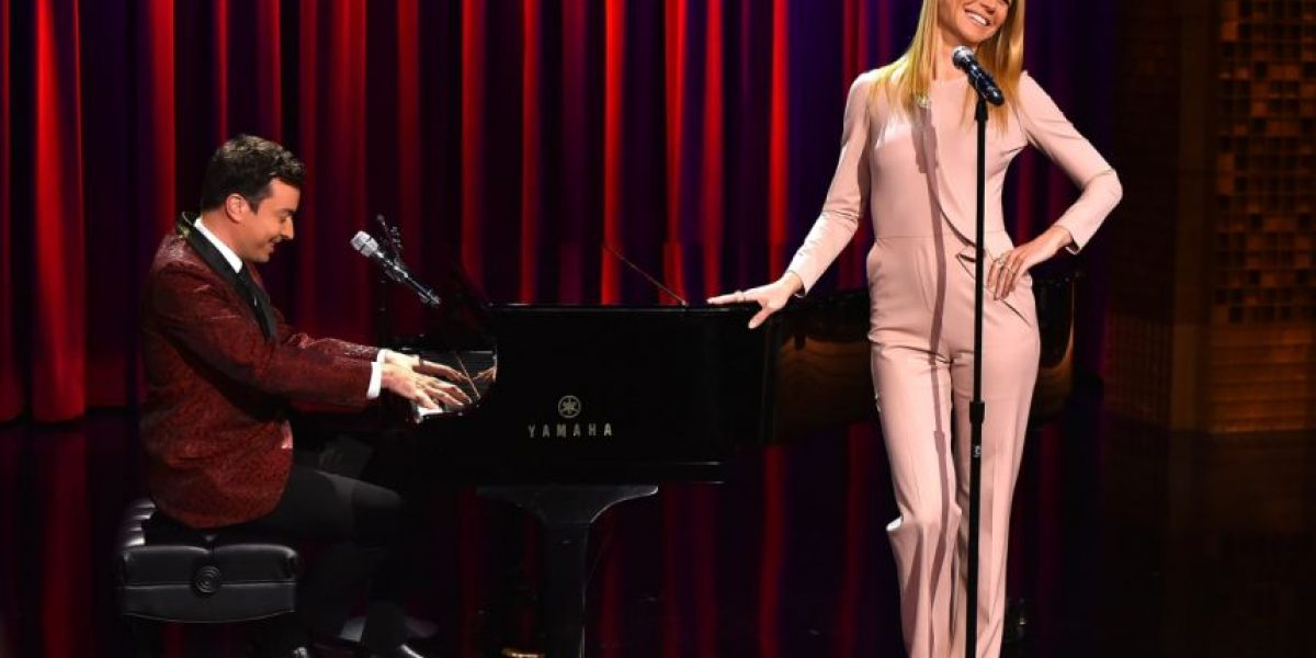 Video. Gwyneth Paltrow se estrena como rapera