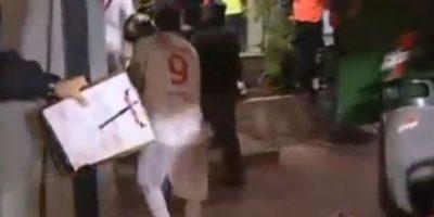 Final manchada: En la final de la Libertadores 2010 entre Estudiantes e Inter de Porto Alegre, los brasileños se coronaron. Foto:YouTube / tremolostv