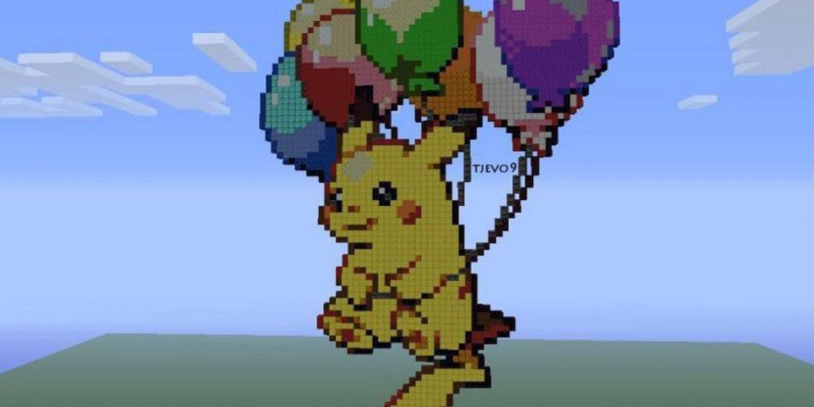 Pikachu Foto:Minecraft / Twitter