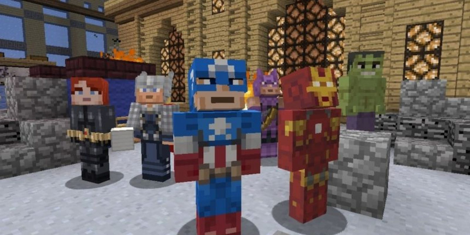 The Avengers Foto: Minecraft / Twitter
