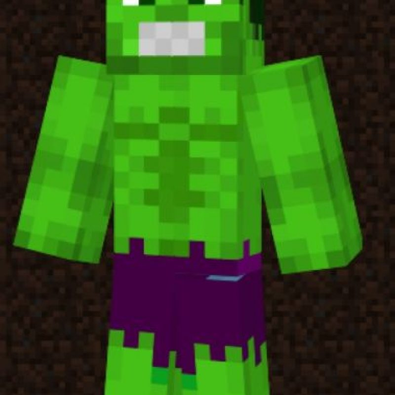 Hulk Foto:Minecraft / Twitter