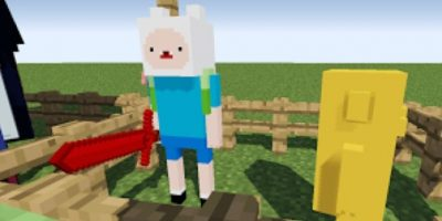 Adventure Time Foto: Minecraft / Twitter