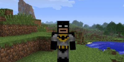 Batman Foto: Minecraft / Twitter