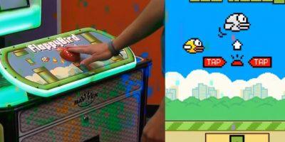 """VIDEO: ¡Como en los años 80! Así juegan """"Flappy Bird"""" en modo arcade"""