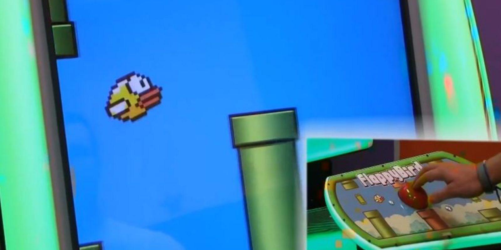 Un botón es suficiente para manejar al ave amarilla. Foto:vía ASI Dubai