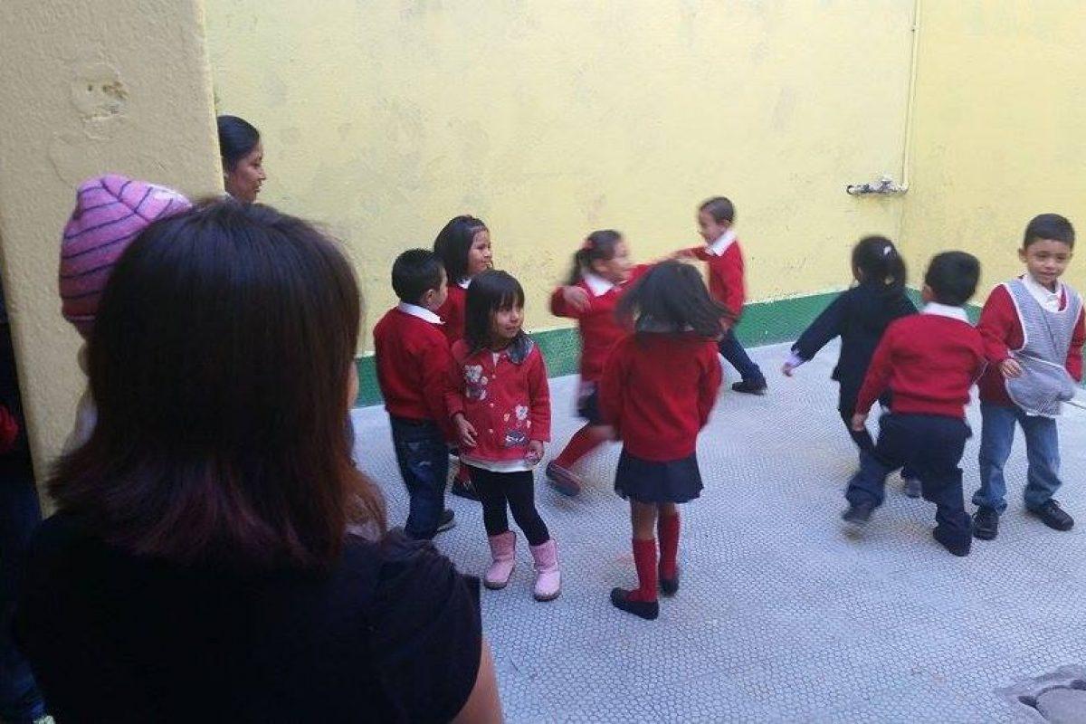 A las aulas. Foto:Publinews