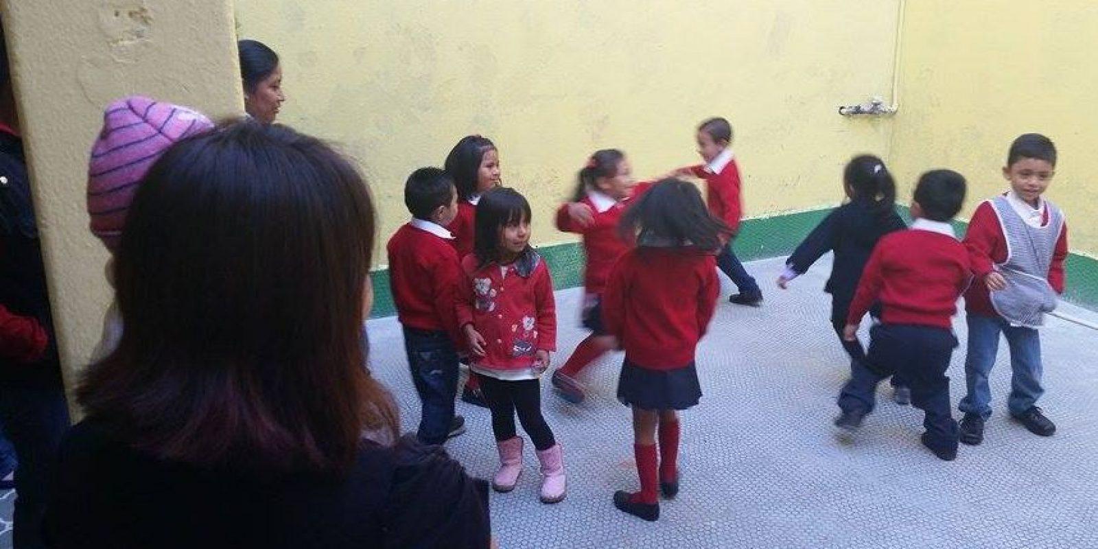 El recreo en la Escuela Leonor Cienfuegos. Foto:Kenneth Monzón