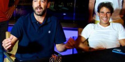El basquetbolista español Juan Carlos Navarro en una partida con Nadal Foto:PokerStars