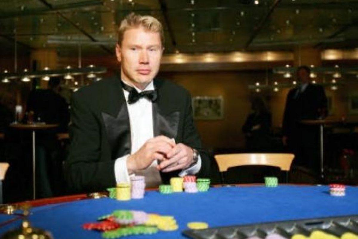 Mika Hakkinen, expiloto finlandés de F1 Foto:PokerStars