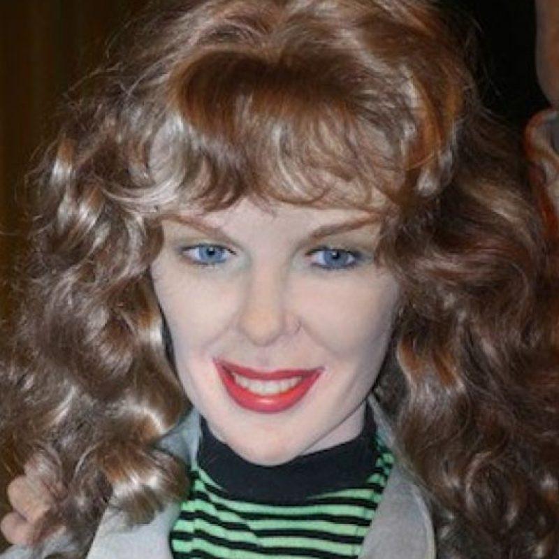"""""""Vaya, hombre. Que tu tía se ponía mucho maquillaje en los 80"""". Foto:Albanpix"""