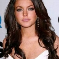 "Lindsay Lohan. ""Igualitas"". Foto:Getty Images"